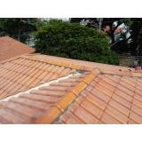 construção de telhado de alumínio Camilópolis
