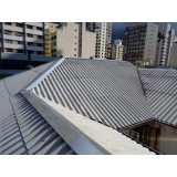 construção de telhado para área Parque São Jorge