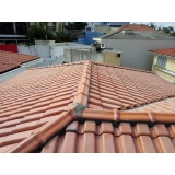 construção de telhados de zinco Reserva Biológica Alto de Serra