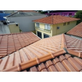 construção telhado residencial Jardim Santo Amaro