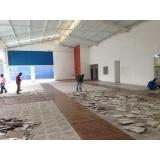 demolição de parede