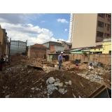 demolições de casas no Jardim Concórdia