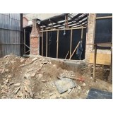 demolições de grande porte no Jardim Milena