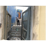 demolidora de construção preço Vila Centenário