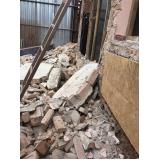 demolidora de estrutura predial no Cambuci