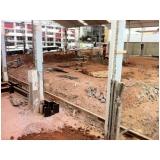 demolidora de estrutura predial no Jardim Martini