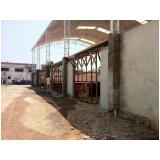 desmontagem de galpões preço em Ferrazópolis