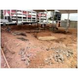 desmontagem de galpões preço na Vila União