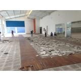 empresa de demolidora de prédios Chora Menino