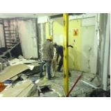 empresa de demolidora de prédios na Vila Santo Antônio