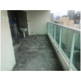 instalação de corrimão em escada na Vila Germaine