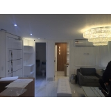 reforma de apartamento pequeno Itaim Bibi
