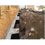 serviço de demolição para construção
