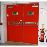 Empresa de Porta Corta Fogo Industrial Jardim Brasil - Instalação de Porta Corta Fogo Residencial