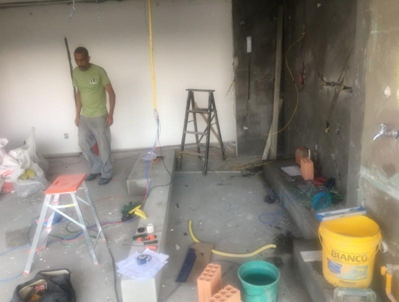 Forro de Gesso Drywall na República - Forro de Gesso Inclinado