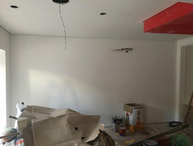 Forro de Gesso Quarto Pequeno Vila Bela - Forros de Gesso Drywall
