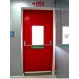 Porta Corta Fogo de Correr na Vila Buarque - Instalação de Porta Corta Fogo em Hospital