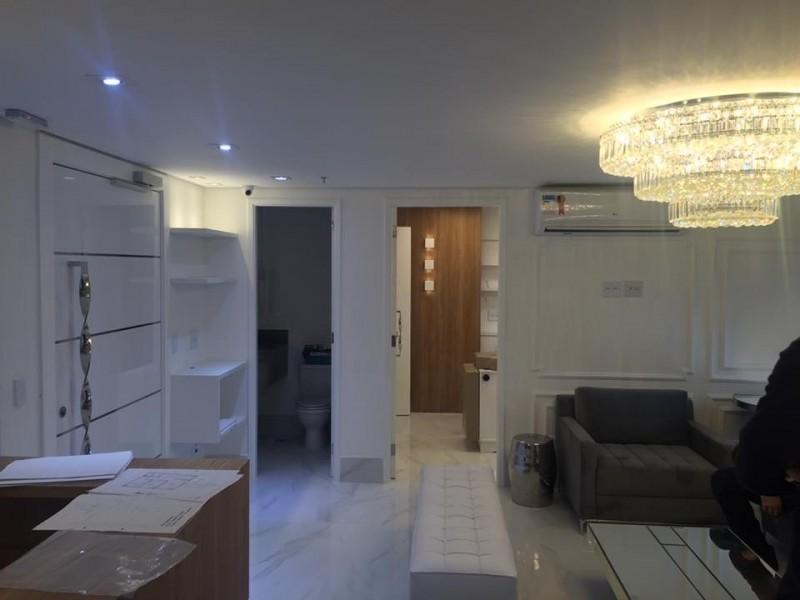 Reforma de Apartamento Pequeno Bairro Silveira - Reforma Apartamento Antigo