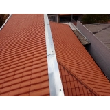 construção de telhado de zinco Figueiras
