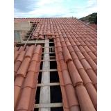construção de telhado em madeira Reserva Biológica Alto de Serra
