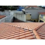 construção de telhado residencial Vila Facchini