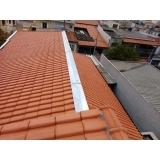 construção de telhados de madeira Chácara Flora