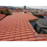 construção telhado embutido Jardim São Caetano