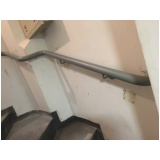 corrimão de escada preço Água Branca