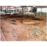 demolição de alto risco na Vila Guarani