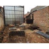 Demolição de casas no Jardim do Colégio