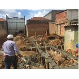 demolição de concreto