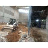 demolição de estruturas na Vila Invernada