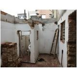 demolição de prédio preço Vila Lutécia
