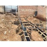 demolições de estruturas na Chácara Flora
