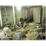 demolidora de concretos na Barra Funda