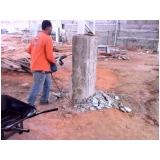 demolidora de concretos preço na Bairro Jardim