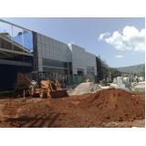 demolidora de estrutura predial na Vila Clementino
