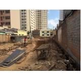 demolidora de estrutura predial na Vila Matias