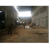 demolidora de prédios na Vila Sônia