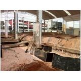 demolidora industrial no Jardim Rutinha