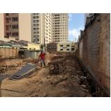 demolidoras de estrutura predial na Lapa