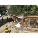 impermeabilização de gesso para paredes enterradas na Vila Zélia