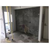 impermeabilização para paredes externas no Parque Bandeirantes