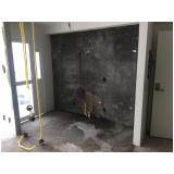 impermeabilização para paredes internas no Sítio dos Vianas