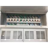 instalação elétrica na laje Vila Alba