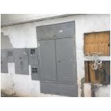 instalação elétrica no forro Chácara Japonesa