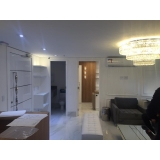 reforma apartamento pequeno Jardim Santo Antônio